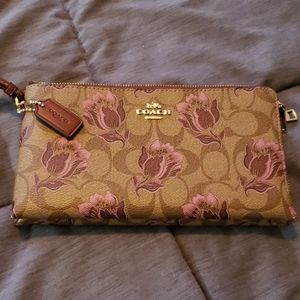 Gently used leather signature wallet